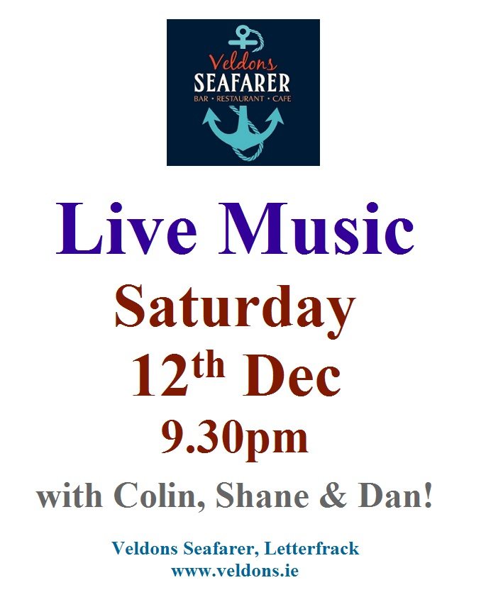 Live Music Dec 12th